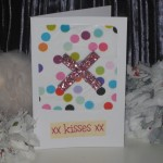 Handmade Card - Kisses