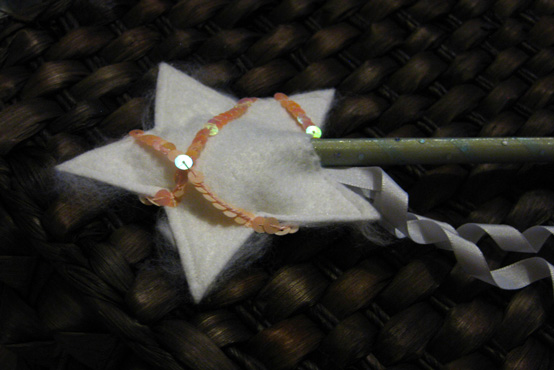 Flower Girl Fairy Wand